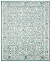 CLOSEOUT! Safavieh Evoke EVK242C Ivory/Light Blue Area Rugs