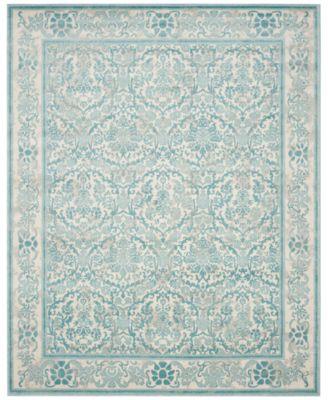 Safavieh Evoke EVK242C Ivory/Light Blue Area Rugs