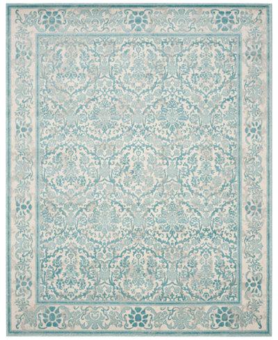 CLOSEOUT! Safavieh Evoke EVK242C Ivory/Light Blue Area Rugs