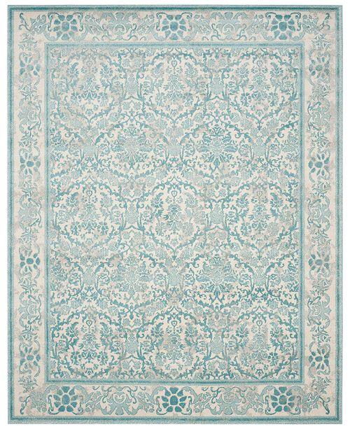 Safavieh  Evoke EVK242C Ivory/Light Blue 3' x 5' Area Rug