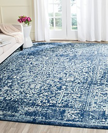 Closeout Safavieh Evoke Evk256a Navy Ivory Area Rugs