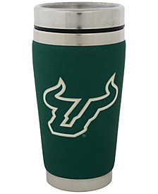 Hunter Manufacturing South Florida Bulls 16 oz. Stainless Steel Travel Tumbler