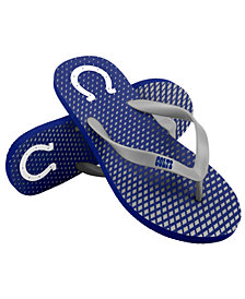 Forever Collectibles Indianapolis Colts High End Flip Flops