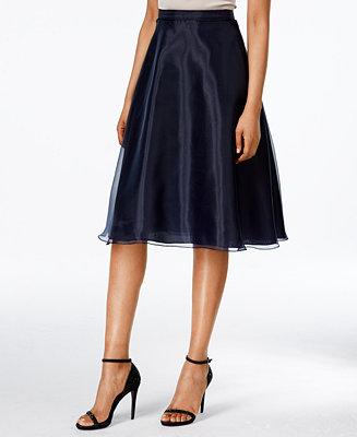 MSK Chiffon A-Line Skirt - Skirts - Women - Macy's