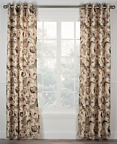 "Ellis Curtain Brissac 50"" x 63"" Lined Grommet Panel"