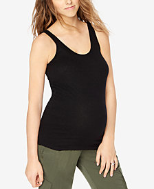Motherhood Maternity Ribbed Tank Top
