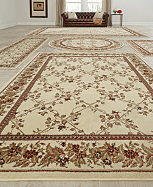 CLOSEOUT ! KM Home Vienna Trellis 5-Pc. Rug Set