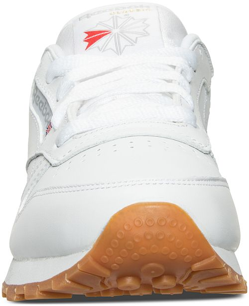 598e13e6a26 Reebok Women s Classic Leather Casual Sneakers from Finish Line ...