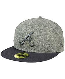 New Era Atlanta Braves Shady Gray 59FIFTY Fitted Cap