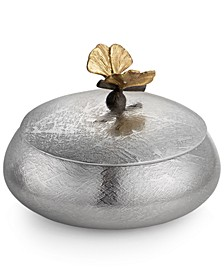 2-Pc. Butterfly Ginkgo Lidded Trinket Box