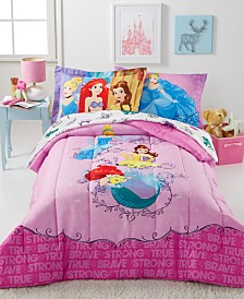 Disney® Princess Friendship Adventures 7-Pc. Comforter Sets