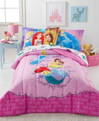 Disney® Princess Friendship Adventures 7-Pc. Bedding