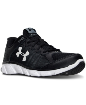 Under Armour  MEN'S MICRO G ASSERT 6 2E WIDE RUNNING SNEAKERS FROM FINISH LINE