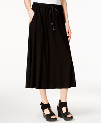 eileen fisher pull on maxi skirt sweaters