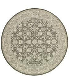 """Oriental Weavers Richmond Tabriz Brown/Ivory 7'10"""" Round Rug"""