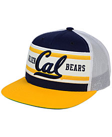 Zephyr California Golden Bears Superstripe Snapback Cap
