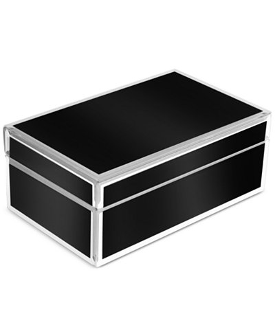 Glass jewelry box macy 39 s for Macy s standing jewelry box