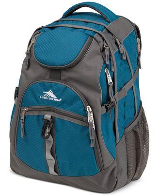 High Sierra Access Backpack in Lagoon