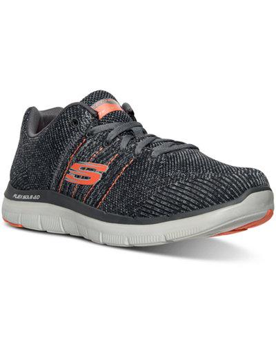Skechers Men's Flex Advantage Missing Link Running Sneakers from Finish Line
