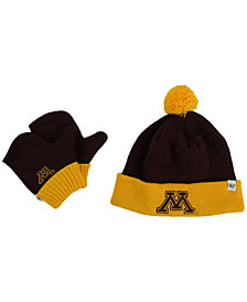 '47 Brand Toddlers' Minnesota Golden Gophers Knit Hat and Mittens Set