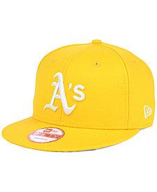 New Era Oakland Athletics C-Dub 9FIFTY Snapback Cap