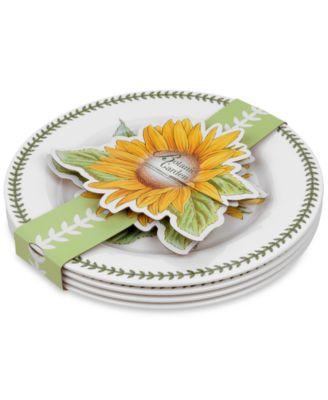 4-Pc. Botanic Garden Dinner Plates