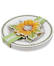 4-Pc. Botanic Garden Melamine Dinner Plates