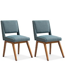 Brine Set of 2 Dining Chairs, Quick Ship