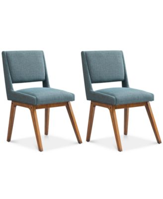 Boomerang Set Of 2 Dining Chairs, Quick Ship
