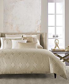 Hotel Collection Dimensions Champagne Full/Queen Duvet Cover, Created for Macy's