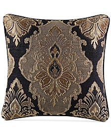 "Bradshaw Black 20"" x 20"" Decorative Pillow"