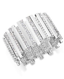 Pavé Crystal Bar Stretch Bracelet, Created for Macy's