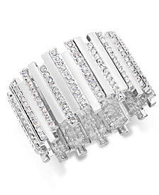 Thalia Sodi Pavé Crystal Bar Stretch Bracelet, Created for Macy's