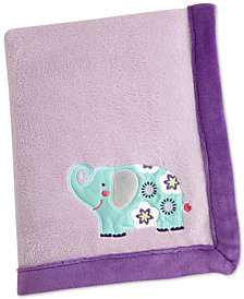 Carter's Zoo Collection Appliqué Fleece Blanket