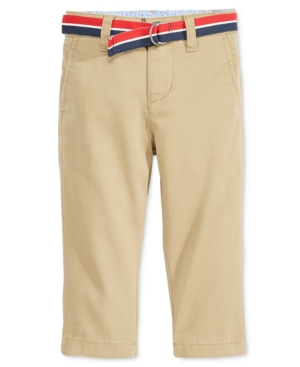 Tommy Hilfiger Baby Pants Baby Boys Chester Khaki Pants