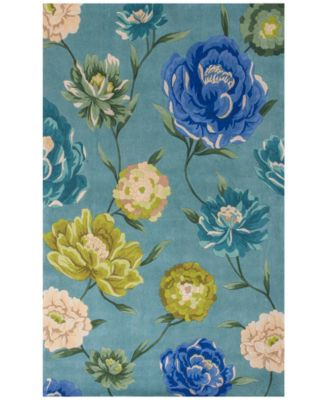 Catalina Floral Oasis 5' x 8' Area Rug