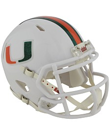 Riddell Miami Hurricanes Speed Mini Helmet