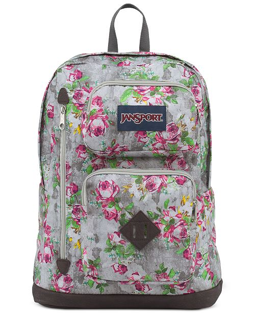b16fa34ab Jansport Austin Backpack in Multi Concrete Floral & Reviews ...