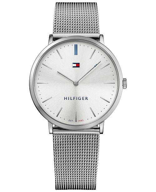 73430320 ... Tommy Hilfiger Men's Slim Sophisticated Sport Stainless Steel Mesh  Bracelet Watch 40mm 1781690 ...
