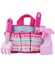 Melissa & Doug Girls' Pretty Petals Tote Set
