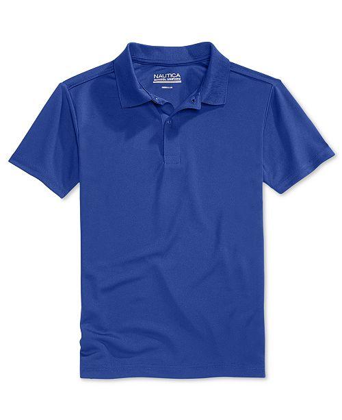 nautica school uniform performance polo big boys shirts tees