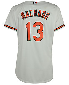 Majestic Women's Manny Machado Baltimore Orioles Cool Base Jersey