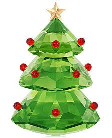 Swarovski Christmas Tree Figurine, Green