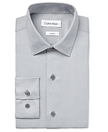Calvin Klein Long-Sleeved Sateen Shirt, Big Boys