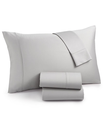 CLOSEOUT! Highland California King 4-Pc Sheet Set, 600 Thread Count, Created for Macy's