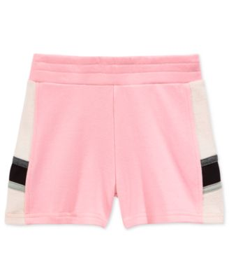 Image of Champion Colorblocked French Terry Shorts, Toddler & Little Girls (2T-6X)