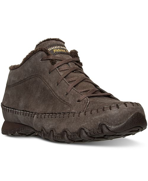 0d1f52fc6a71 ... Skechers Women s Relaxed Fit  Bikers - Totem Pole Boots from Finish ...