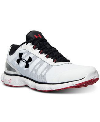 under armour running shoes micro g. under armour men\u0027s micro g attack 2 running sneakers from finish line shoes o
