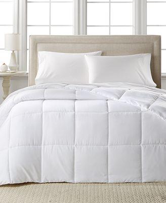 home design down alternative comforters, hypoallergenic, created
