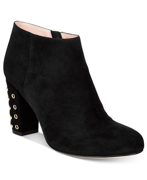 Cheap Visa Payment Purchase Kate Spade New York Suede Round-Toe Booties From China Cheap Price Pick A Best Cheap Price jlibojNLft